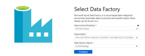 Create Data Factory 4